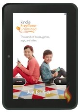 Kindle Fire Special Offer Ads; Kindle FreeTime Unlimited