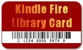 Kindle Fire Library Card