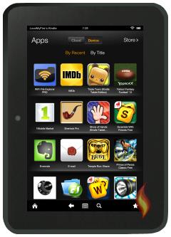 Kindle Fire HD 8.9 Apps