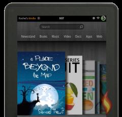 Kindle Fire ebooks on Carousel