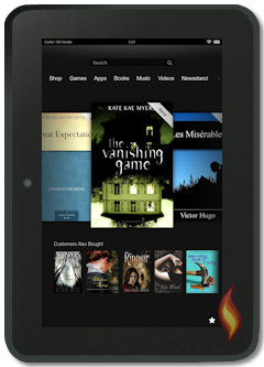 Kindle Fire Carousel Showing What Customers Also Bought