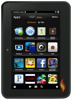 Kindle Fire HD Side Loaded Apps
