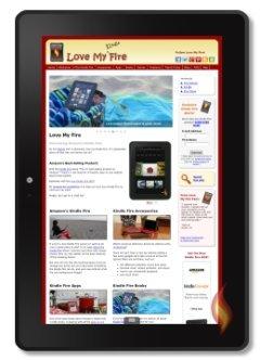 LoveMyFire on My Kindle Fire HDX