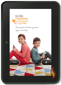 Kindle Fire Special Offer Ad: Kindle FreeTime Unlimited
