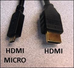 HDMI to HDMI Micro Cable