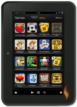 List of Kindle Fire Games