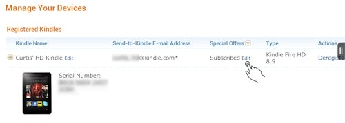 Unsubscribe Your Kindle Fire on Amazon