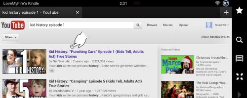 YouTube: Select Kid History Episode 1