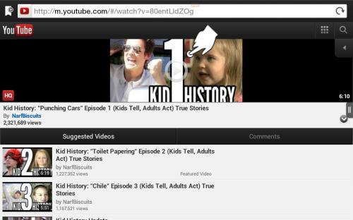Play YouTube Flash Video on Kindle Fire HD