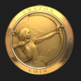 Front of Amazon Coin
