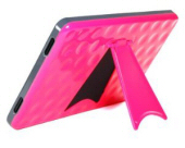 Cosmos Hard Case with Built-in Kick Stand Pink