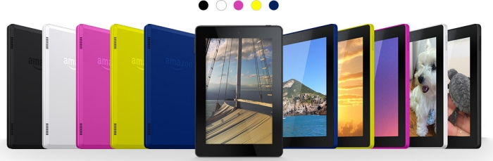 2014 Amazon Kindle Fire HD Color Options