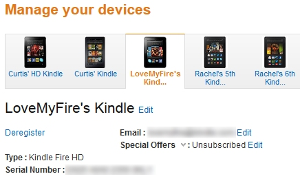 LoveMyFire's Kindle Fire on Amazon