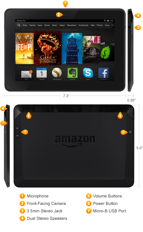 Which Kindle Fire Tablet Do I Own?