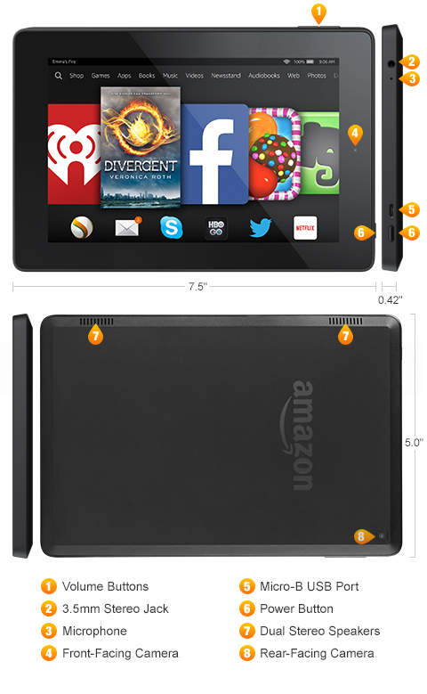 Kindle Fire Hd Diagram Diy Enthusiasts Wiring Diagrams