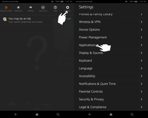 Install Android Apps on Kindle Fire: Allowing Installation from Unknown Sources