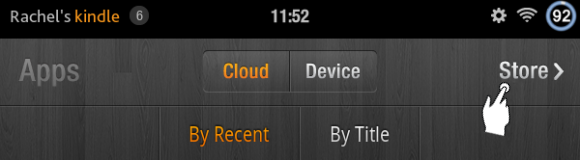 Kindle Fire Apps: Store