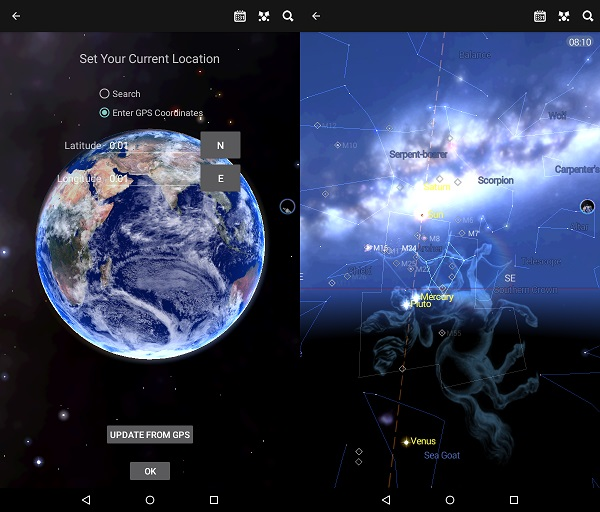 Astronomy Apps For Kindle Fire: Star Chart