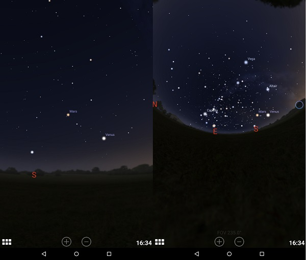 Astronomy Apps For Kindle Fire: Stellarium Mobile