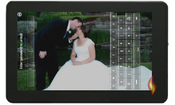 Customized Wallpaper Landscape Wedding Photo