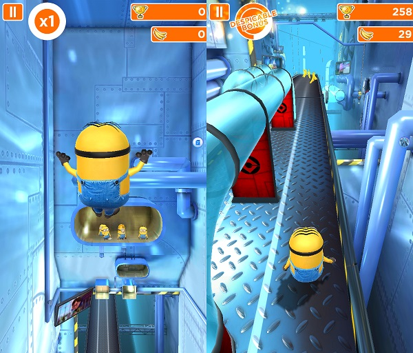 Kindle Fire Adventure Games: Despicable Me: Minion Rush