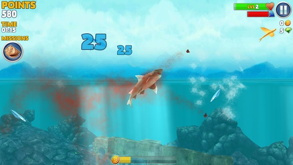 Adventure Games For Kindle Fire: Hungry Shark Evolution