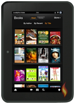 Finding Free Kindle Fire Books