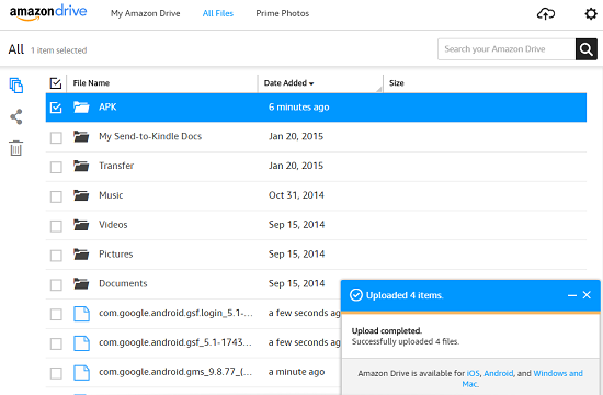 How To Get Google Play On Kindle Fire: transferring APK files wirelessly
