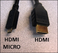 HDMI to HDMI Micro Cable
