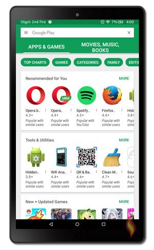 Install google play books app