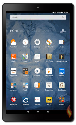 kindle fire hd 2016 models 6th generation tablet
