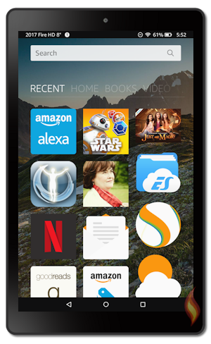 Kindle Fire 2017 - 7th Generation