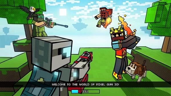 Kindle Fire Adventure Games: Pixel Gun 3D