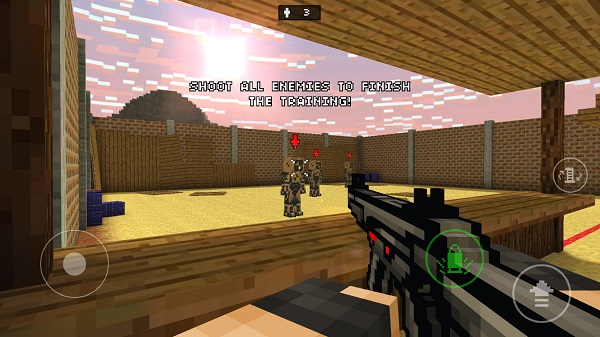 Kindle Fire Adventure Games: Pixel Gun 3D
