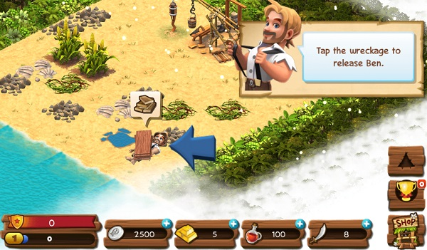 Kindle Fire Adventure Games: Shipwrecked: Lost Island