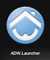 Install ADW Launcher App