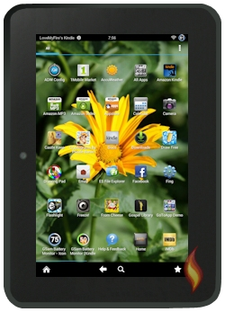 Make Kindle Fire Look Android