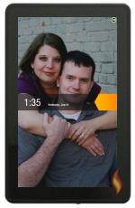Kindle Fire Wallpaper Photo of Husband and I