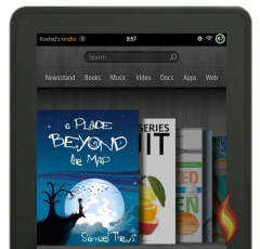 Kindle Fire ebooks on Carousel