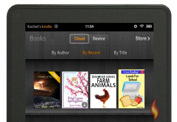 My eBooks in Amazon Cloud