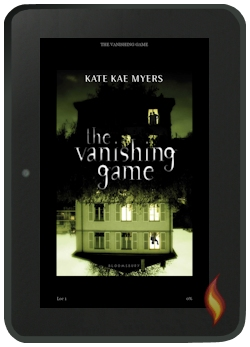 Kindle Fire Books: The Vanishing Game by Kate Kae Myers