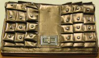 Kindle Fire Case, Gold Purse