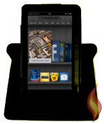 Kindle Fire Cover Deft Dante 360 Black
