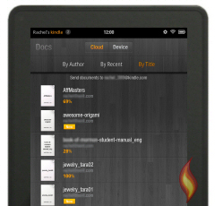 Email Documents to Kindle Fire