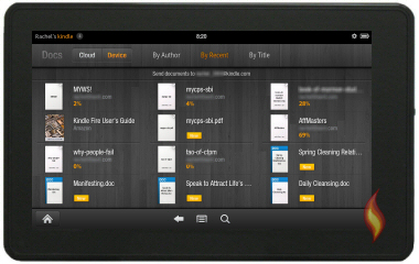 Kindle Fire Documents
