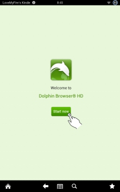 Start Using Dolphin Browser on Kindle Fire