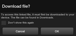 Kindle Fire Question: Download File?