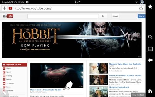 Open YouTube Flash Video