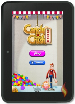 Play Candy Crush Saga on Kindle Fire