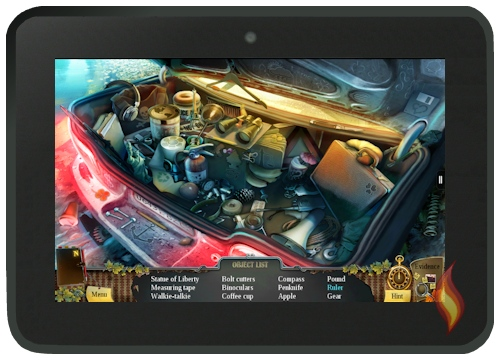 Enigmatis  Game on Kindle Fire